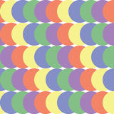 Teste padrão geométrico sem emenda abstrato Fotos de Stock