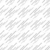 Teste padrão geométrico sem emenda abstrato com linhas ilustração do vetor