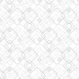 Teste padrão geométrico sem emenda abstrato com quadrados ilustração royalty free