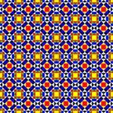 Teste padrão geométrico sem emenda colorido Ilustração do Vetor