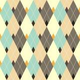 Teste padrão geométrico sem emenda com diamante colorido Imagens de Stock Royalty Free