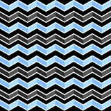 Teste padrão geométrico sem emenda com ziguezagues Imagem de Stock