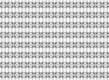 Teste padrão geométrico sem emenda das linhas tênues em preto e no white_ fotos de stock royalty free