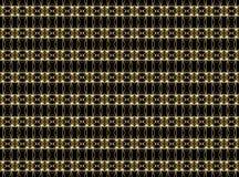 Teste padrão geométrico sem emenda de linhas finas em cores douradas em um d imagens de stock