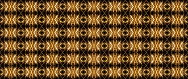 Teste padrão geométrico sem emenda de linhas luminosas, nas cores douradas o imagem de stock royalty free