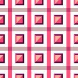 Teste padrão geométrico sem emenda detalhado em tons pálidos Teste padrão geométrico colorido Teste padrão sem emenda, fundo, tex Fotos de Stock Royalty Free