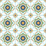 Teste padrão geométrico sem emenda do estilo oriental Fotografia de Stock