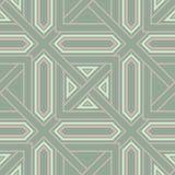 Teste padrão geométrico sem emenda do verde azeitona Fotografia de Stock Royalty Free