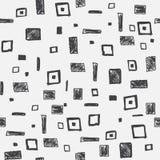 Teste padrão geométrico sem emenda do vetor Fotos de Stock