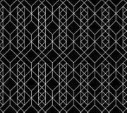 Teste padrão geométrico sem emenda do vetor Foto de Stock Royalty Free