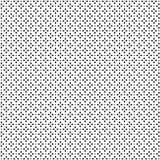 Teste padrão geométrico sem emenda do vetor abstrato preto e branco Fotografia de Stock