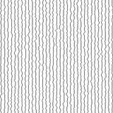 Teste padrão geométrico sem emenda do vetor abstrato preto e branco Foto de Stock Royalty Free