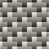 Teste padrão geométrico sem emenda do vetor Ornamento telhado regular Fundo transversal do sumário de Tilig Mosaico de intervalo  Foto de Stock Royalty Free