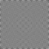 Teste padrão geométrico sem emenda do vetor Textura dos quadrados Fundo preto e branco Projeto monocromático ilustração do vetor
