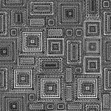 Teste padrão geométrico sem emenda dos retalhos Imagens de Stock