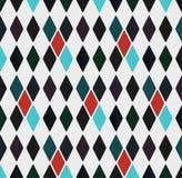 Teste padrão geométrico sem emenda dos rombos, ilustração ilustração do vetor