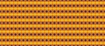Teste padrão geométrico sem emenda em cores amarelo-quentes em um backgr escuro fotos de stock royalty free
