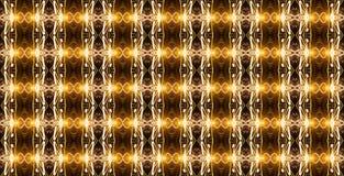 Teste padrão geométrico sem emenda em cores douradas com elemen luminosos fotos de stock royalty free