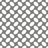 Teste padrão geométrico sem emenda, grade perfurada do metal no cinza ilustração royalty free