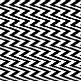 Teste padrão geométrico sem emenda preto e branco Textura repetível/ ilustração royalty free