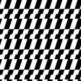 Teste padrão geométrico sem emenda preto e branco Textura repetível/ ilustração do vetor