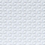 Teste padrão geométrico sextavado branco - fundo quadrado Foto de Stock