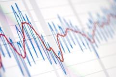 Teste padrão gráfico Foto de Stock