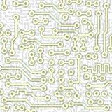 Teste padrão gráfico abstrato da luz da placa de circuito Foto de Stock Royalty Free