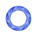 teste padrão gráfico circular Foto de Stock Royalty Free