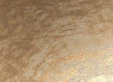 Teste padrão gravado dourado Foto de Stock Royalty Free