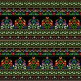 Teste padrão húngaro do bordado Fotografia de Stock Royalty Free