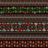 Teste padrão húngaro do bordado Foto de Stock
