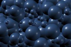 Teste padrão II das esferas ilustração royalty free