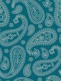 Teste padrão indiano com paisley. foto de stock royalty free