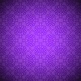 Teste padrão indiano sem emenda no colore violeta Ilustração do Vetor