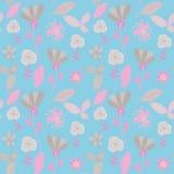 Teste padrão sem emenda floral colorido. Ilustração do vetor ilustração stock