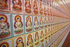 Teste padrão infinito de Buddha Fotos de Stock