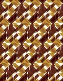 Teste padrão infinito simétrico estilizado brilhante, continuou transparente Imagem de Stock Royalty Free