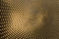 Teste padrão intricado do ouro. Fotos de Stock Royalty Free