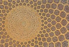 Teste padrão islâmico da mesquita Fotografia de Stock