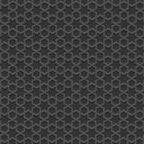 Teste padrão islâmico textured preto Imagens de Stock Royalty Free