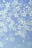 Teste padrão japonês da flor Fotos de Stock Royalty Free