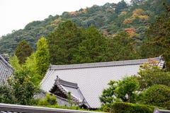 Teste padrão japonês do telhado Fotos de Stock Royalty Free