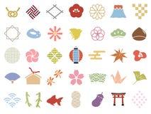 Teste padrão japonês ilustração do vetor