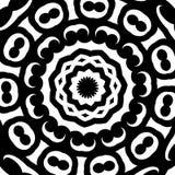 Teste padrão kaleidoscopic abstrato Imagem de Stock