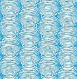Teste padrão linear abstrato. Projeto da garatuja ilustração royalty free
