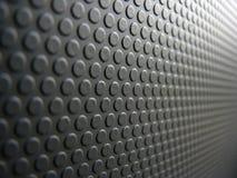 Teste padrão linear cinzento dos círculos Fotos de Stock Royalty Free