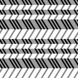 Teste padrão liso sem emenda geométrico, ilusão 3d. Foto de Stock Royalty Free