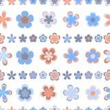 Teste padrão listrado abstrato sem emenda de geométrico cor-de-rosa e marrom bonito ilustração do vetor