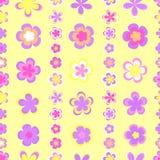 Teste padrão listrado abstrato sem emenda de geométrico cor-de-rosa e marrom bonito ilustração royalty free